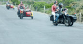 Full-Day Cape Coastal Whale Route by Vintage Motorbike Sidecar – Cape Town